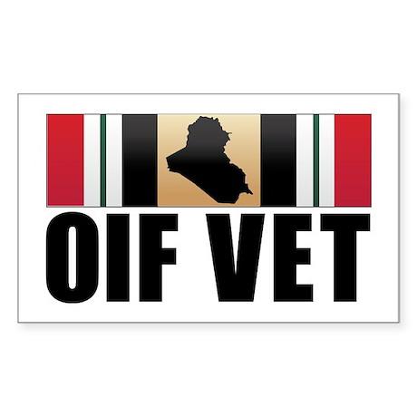 Operation Iraqi Freedom Veteran Sticker