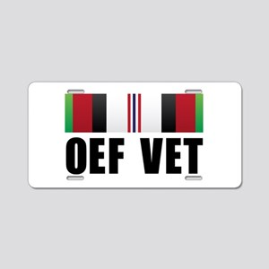 Operation Enduring Freedom (O Aluminum License Pla