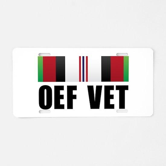 Operation Enduring Freedom (O Aluminum License Pla