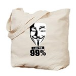 Fawkes 99% Tote Bag