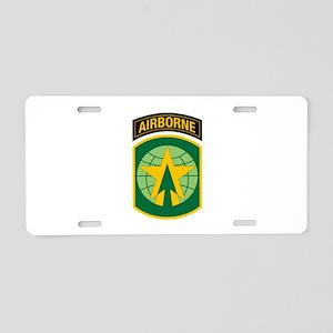 16th MP Brigade Aluminum License Plate