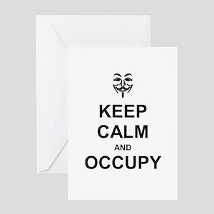 Occupy Wall Street: Greeting Card