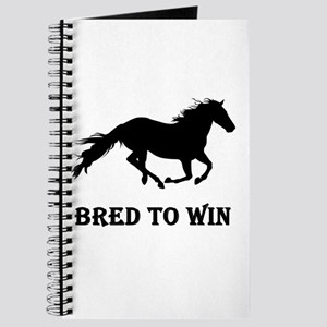 Bred To Win Horse Racing Journal
