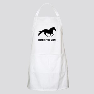 Bred To Win Horse Racing Apron