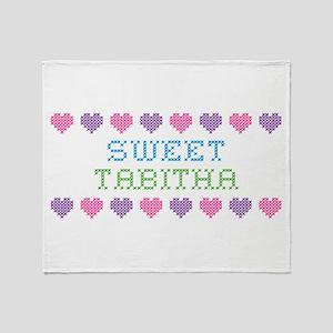 Sweet TABITHA Throw Blanket