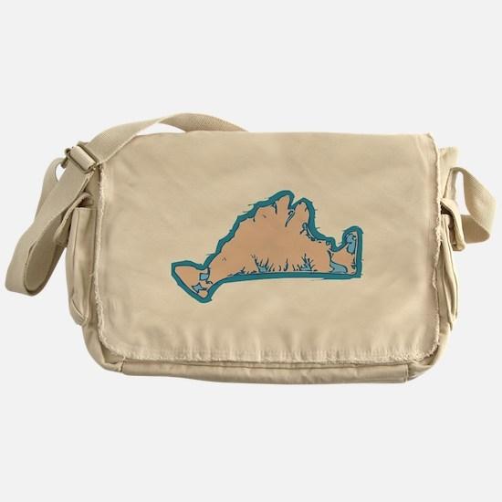 Martha's Vineyard MA. Messenger Bag