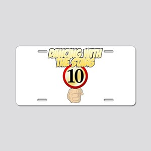 Dancing with the Stars - 10 Aluminum License Plate