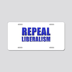 Repeal 5 Blue Aluminum License Plate