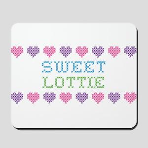 Sweet LOTTIE Mousepad