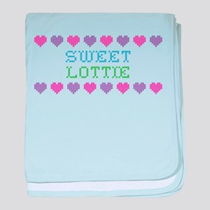 Sweet LOTTIE baby blanket