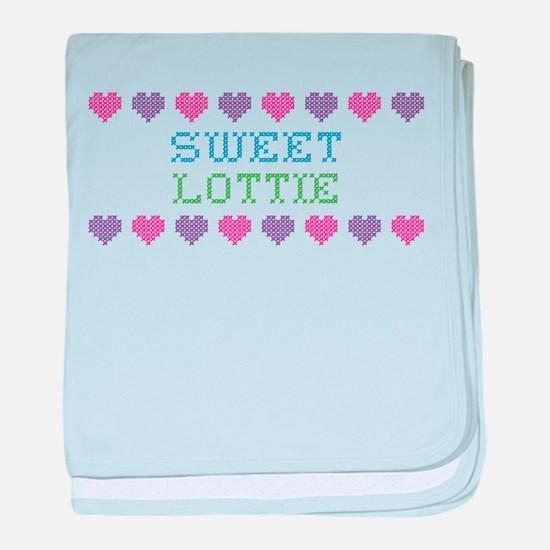 Sweet LOTTIE baby blanket