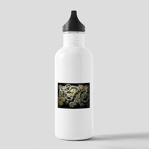 SteamPunk Gears Stainless Water Bottle 1.0L