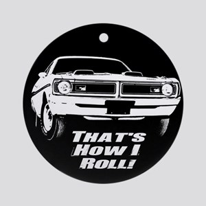 How I Roll - Dodge Demon Ornament (Round)