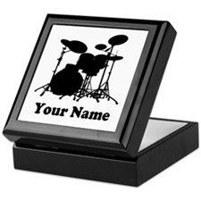 Personalized Drums Keepsake Box