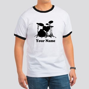 Personalized Drums Ringer T