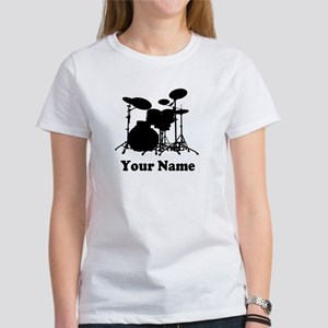 Personalized Drums Women's T-Shirt