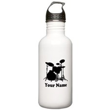 Personalized Drums Stainless Water Bottle 1.0L