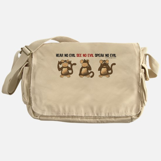 Hear No Evil... Messenger Bag