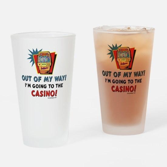 Casino Lovers Drinking Glass