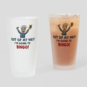 BINGO!! Drinking Glass