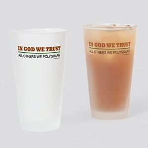 In God We Trust Drinking Glass