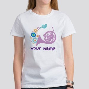 Personalized French Horn Women's T-Shirt