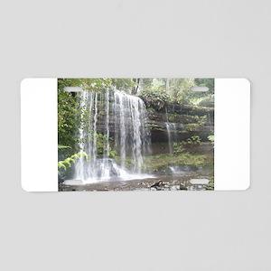 Elph Russell Falls, Tasmania Aluminum License Plat