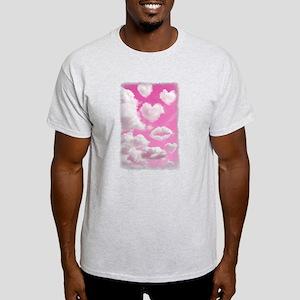 Heart Clouds Light T-Shirt
