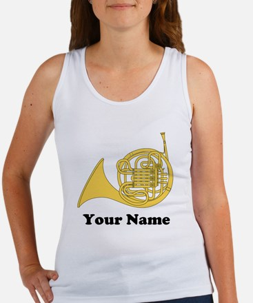 Personalized French Horn Women's Tank Top