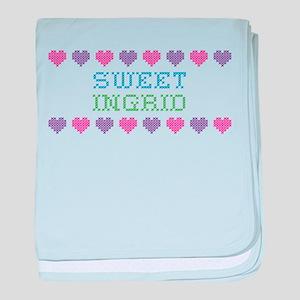 Sweet INGRID baby blanket