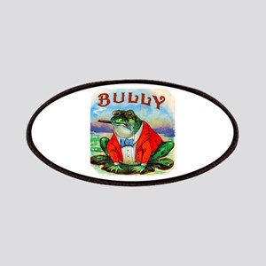 Bully Bullfrog Cigar Label Patches