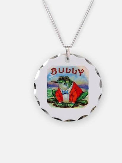 Bully Bullfrog Cigar Label Necklace