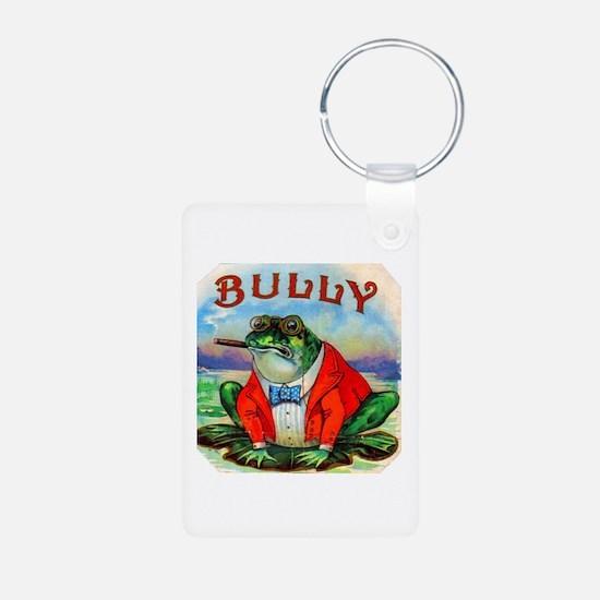 Bully Bullfrog Cigar Label Keychains