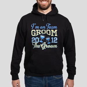 The Groom Champagne 2012 Hoodie (dark)