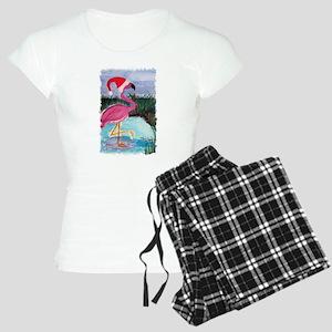Santa Flamingo Women's Light Pajamas