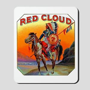 Red Cloud Cigar Label Mousepad