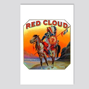 Red Cloud Cigar Label Postcards (Package of 8)