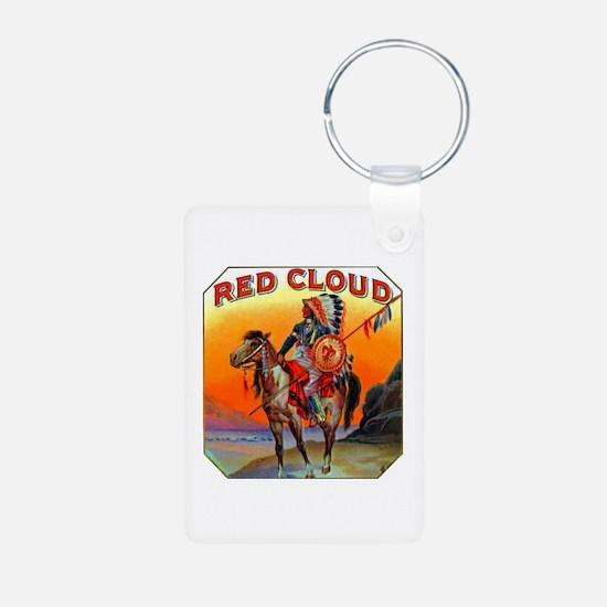 Red Cloud Cigar Label Keychains