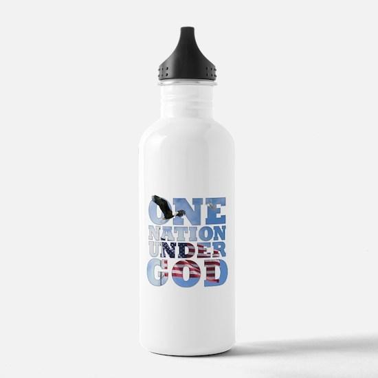 Funny God us Water Bottle