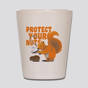 Protect Your Nuts Shot Glass