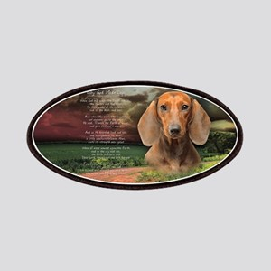 """""""Why God Made Dogs"""" Dachshund Patches"""