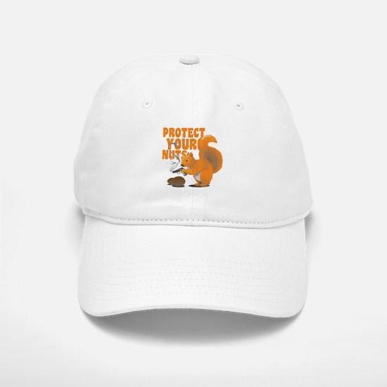 Protect Your Nuts Baseball Baseball Cap