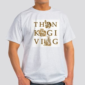 Victorian Thanksgiving Ash Grey T-Shirt