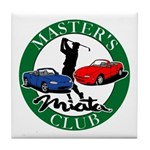 Masters Miata Club Tile Coaster