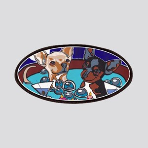 Chihuahua Hot Tub Patches