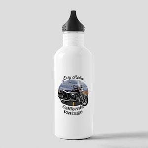 Moto Guzzi California Vintage Stainless Water Bott