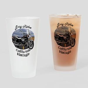 Moto Guzzi California Vintage Drinking Glass