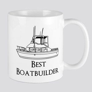 Best Boatbuilder Mug