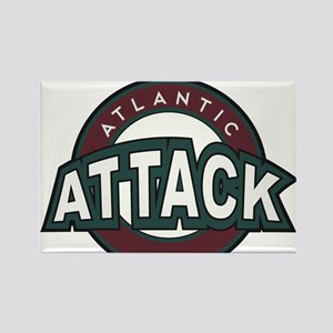 Atlantic Attack Rectangle Magnet