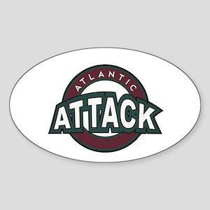 Atlantic Attack Sticker (Oval)